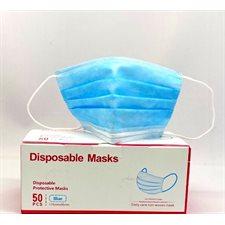 Masque jetable bleu 50 / bte