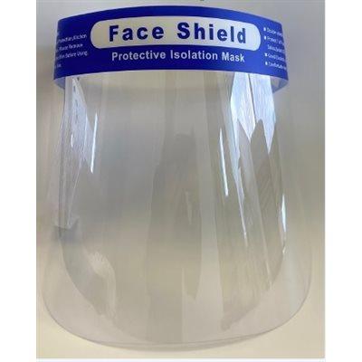 Disposable face shield protection visor (50x38x21cm)