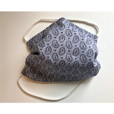 Masque réutilisable 100% Coton