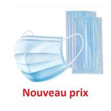 Masque MÉDICAL jetable bleu 50 / bte