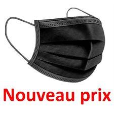 Masque jetable 50 / bte NOIR